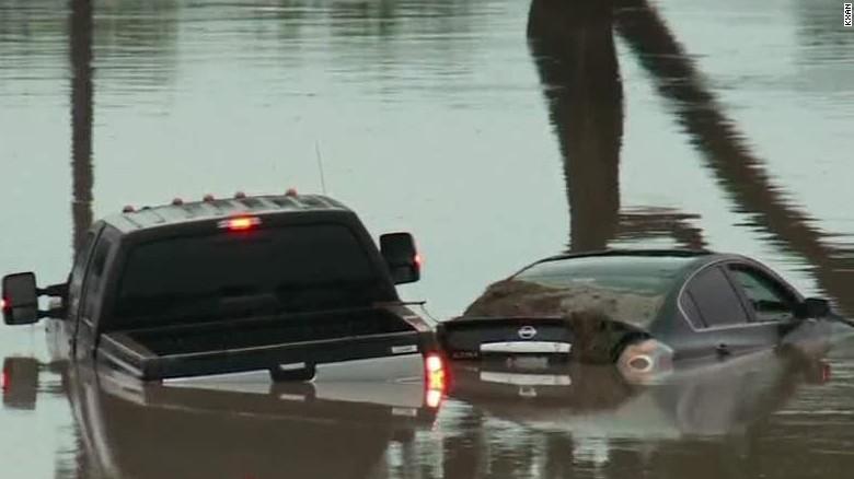 Flooding plagues Texas and Oklahoma