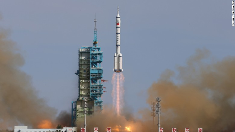 In June 2013, China launched three astronauts into orbit for the country's fifth and longest crewed mission in its burgeoning space exploration program.