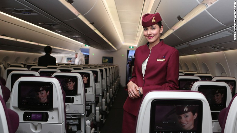 """Qatar Airways: """"The seats were comfortable, the food was good and the staff were courteous,"""" says Rema0606."""