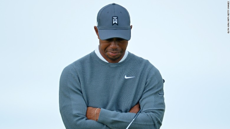 "Tiger Woods revealed he underwent surgery for the third time last month in an attempt to alleviate nerve trouble in his back and has no idea when he will be back in action, saying he ""has nothing to look forward to."""