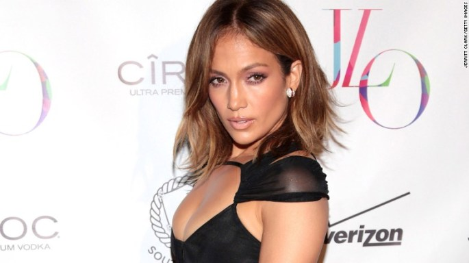 Age hasn't stopped Jennifer Lopez from showing up in revealing outfits. The star turned 46 on Friday, July 24, and worked the red carpet the next day in a sheer outfit.