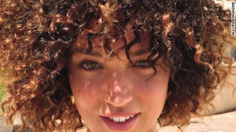 magazine uses white model in afro feature social reacts cnn video