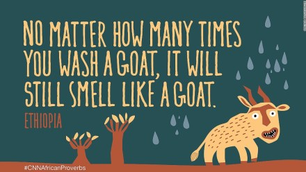 African proverbs 9 goat