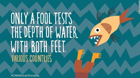 African proverbs 7 water