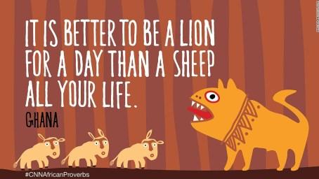 African proverbs 5 sheep