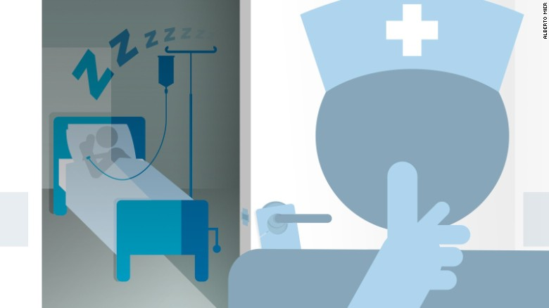 Hospitals are reviewing their patient-sleep policies and starting to make changes.