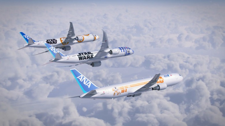 """Dhananjaygokarn from Pune, India says it's """"one of the best economy class experiences"""" with """"very warm and welcoming crew, good leg room and great food."""" And if you're a """"Star Wars"""" fan, they have a <a href=""""/2015/09/14/travel/ana-star-wars-planes-september-2015/index.html"""" target=""""_blank"""">fleet of themed planes</a>."""