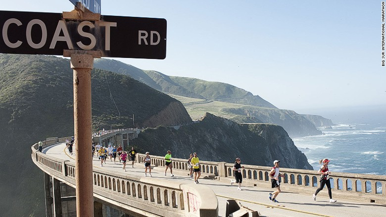 Big Sur International Marathon is one of the world's most spectacular challenges.