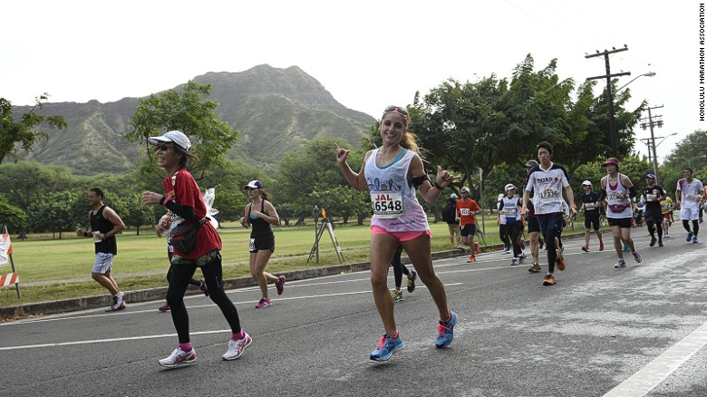 Relax, you're in Hawaii. The local marathon has no cutoff time.