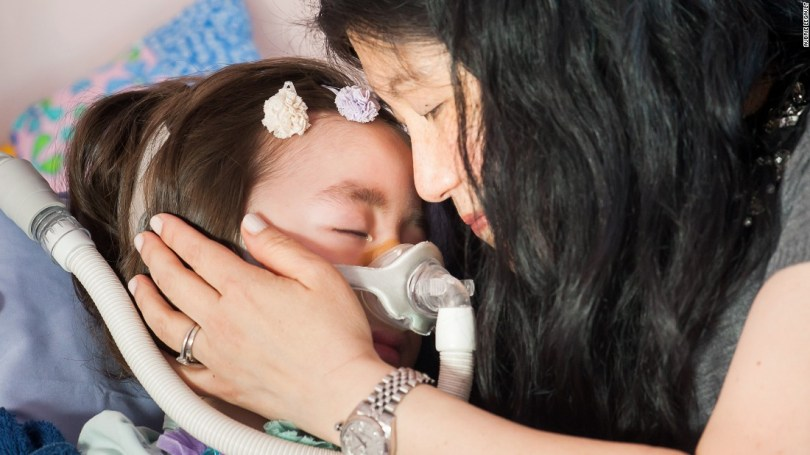 """Michelle said that if Julianna became ill, she would ask her again whether she wanted to go to the hospital or heaven, and """"we'll honor her wishes."""""""