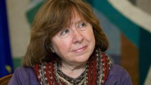 Writer Svetlana Alexievich