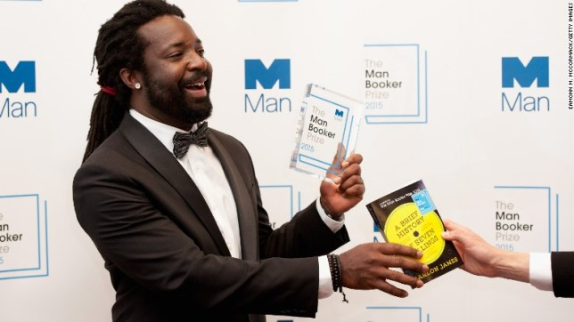 "Marlon James won the 2015 Man Booker Prize for ""A Brief History of Seven Killings"" on Tuesday."