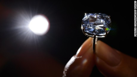 Billionaire buys world&#39s most expensive diamond for his 7-year-old