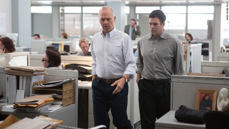 """<strong>Best picture: </strong>""""Spotlight"""""""