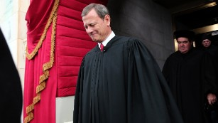 Chief Justice John Roberts' game of chess