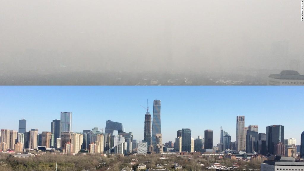Image result for contaminación china