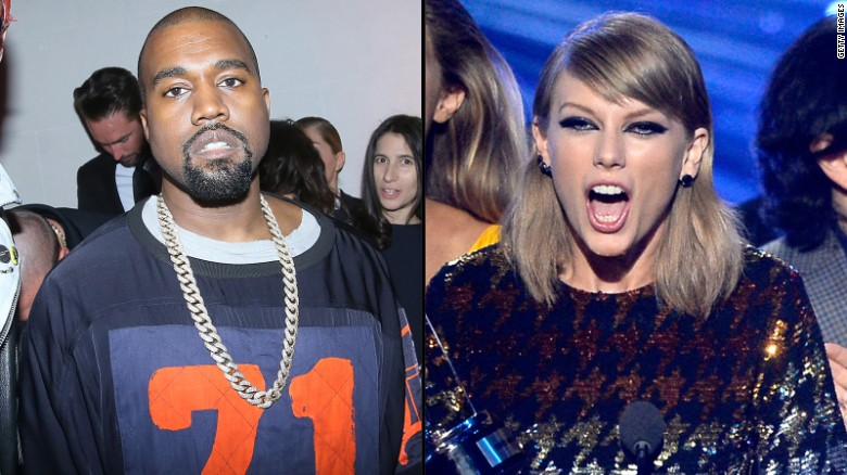 "Kanye West and Taylor Swift may see a renewal in their feud after his <a href=""http://www.cnn.com/2016/02/11/entertainment/taylor-swift-kanye-west-new-song/index.html"">mention of her in one of his songs</a>. In the song ""Famous,"" West reportedly croons, ""I feel like me and Taylor might still have sex. / Why? I made that bitch famous."" Swift fans reacted quickly."
