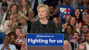 Clinton: Campaigns should be about results, not insults