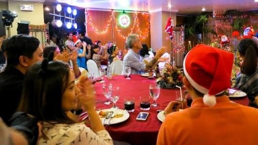 Festive spirit prevails despite typhoon