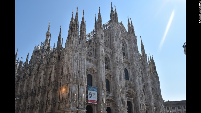 "TripAdvisor just released its Travelers' Choice World's Most Beloved Landmarks list. Coming in at number 10 is Italy's Milan Cathedral. ""Amazing views and extraordinary architecture,"" raved one recent TA reviewer."