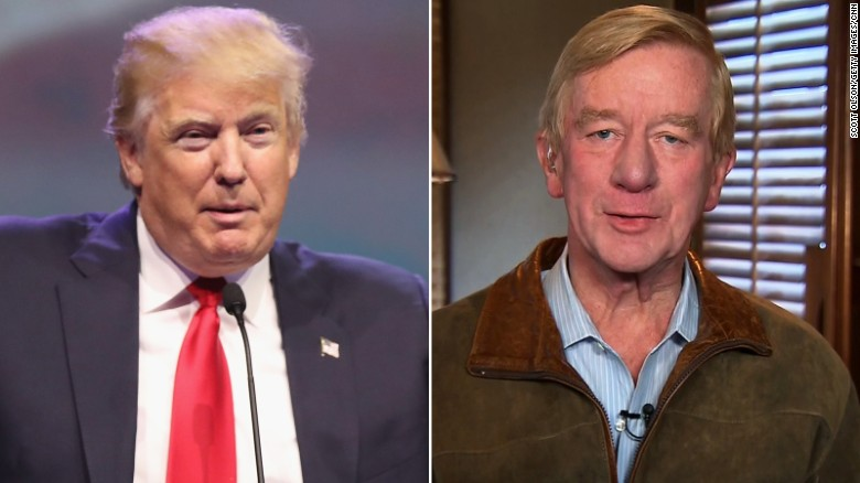 Donald Trump and William Weld