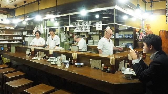 Sendai beef tongue restaurant Aji Tasuke.