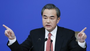 China's Foreign Minister berates reporter over human rights