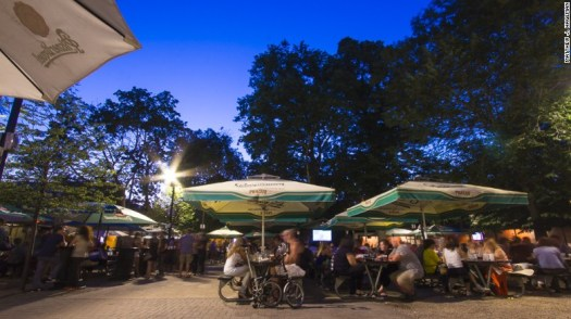 Bohemian Hall in the Queens borough of New York has been around since before Prohibition, keeping the Czech and Slovak beer garden tradition alive for nearly a century.
