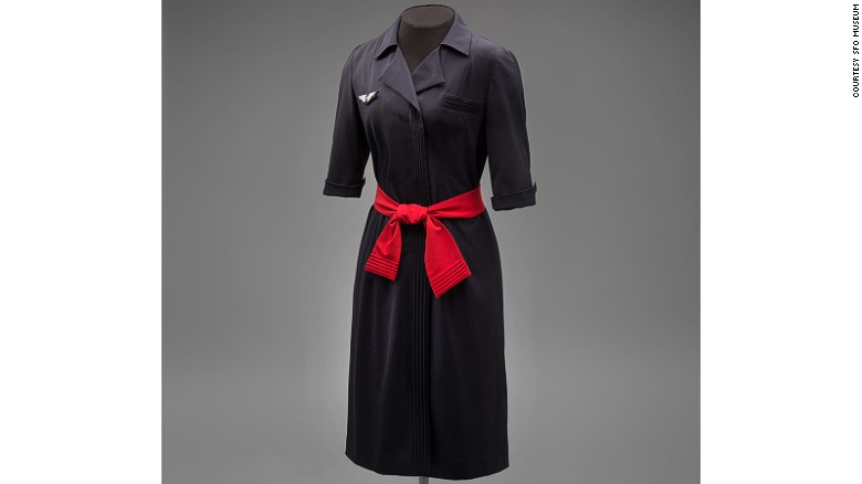 Christian Lacroix designed this robe-manteau dress with a Japanese-style tie belt.