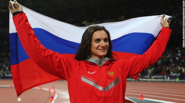 Russian pole vault star Yelena Isinbayeva was one of those appealing the decision.