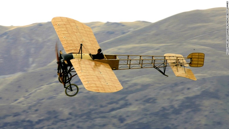 First built in 1909, the chances of getting to fly in one are next to nil, but a few airworthy craft still remain. A restored Bleriot XI makes a low pass over the airfield at the Warbirds over Wanaka International Airshow in Lake Wanaka, New Zealand in 2006.
