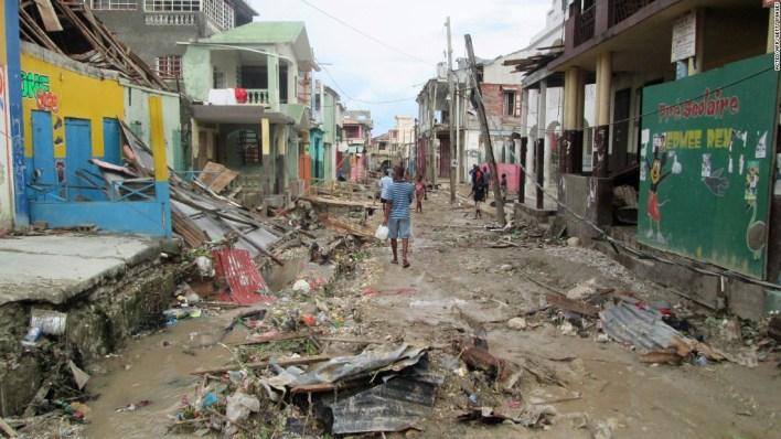 Hurricane Matthew Destroyed Haiti