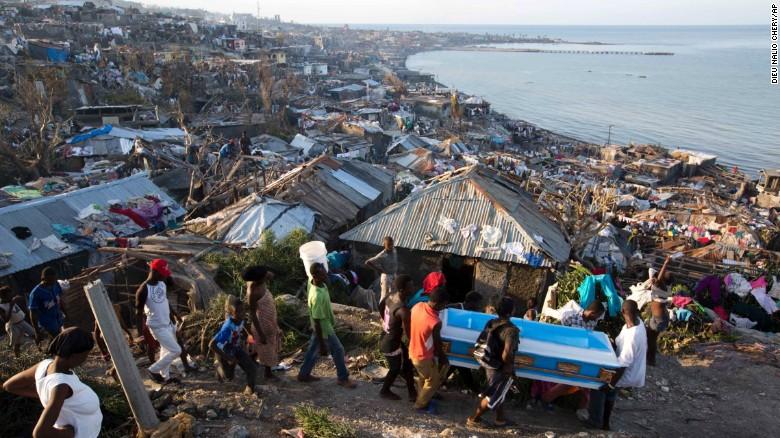 Image result for haiti - hurricane matthew