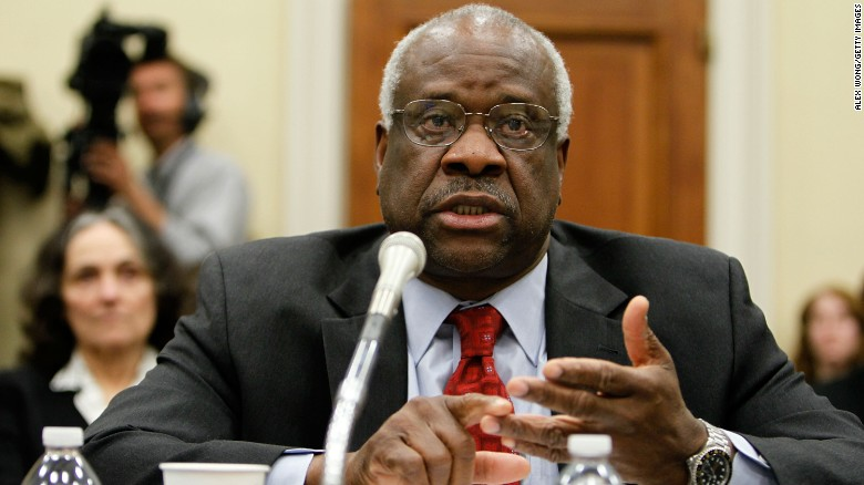 Thomas testifies during a hearing before the Financial Services and General Government Subcommittee of the House Appropriations Committee on April 15, 2010.