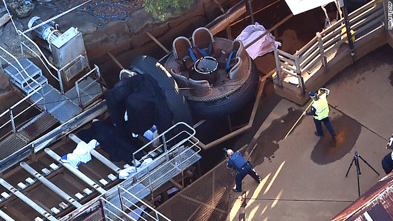 Multiple fatalities in Queensland ride malfunction