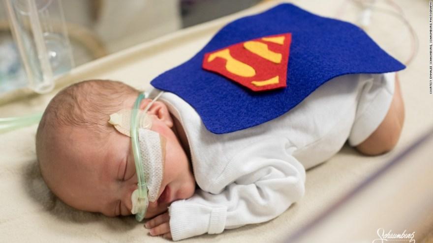 NICU babies get handmade costumes for first Halloween at St. Luke hospital