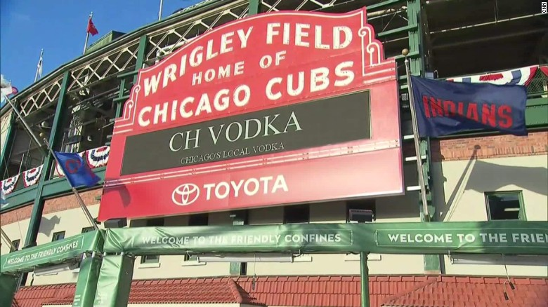 Image result for Wrigley Field hosts first World Series game since 1945