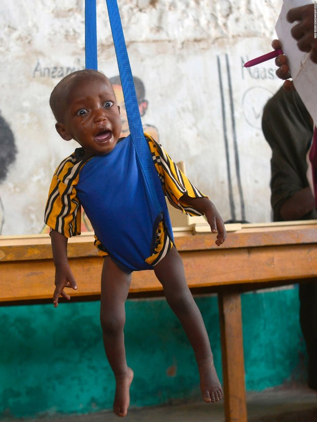 Four countries face famine