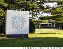 GE reported sinking profit and sales, but said it sees signs of stablization.
