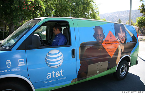 AT&T joins Comcast in capping broadband data usage for its customers at 250 gigabytes per month.