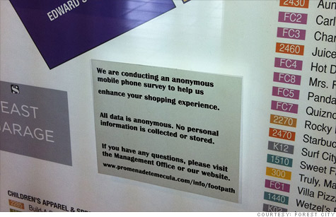 Malls To Track Shoppers Cell Phones On Black Friday