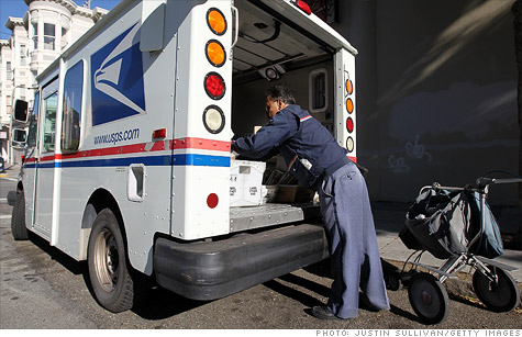 The U.S. Postal Service has a loan from Treasury, but Congress would pay that back.