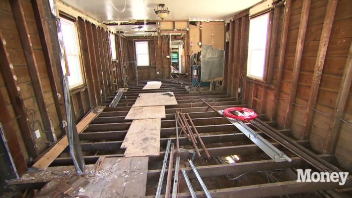 A couple tries to rebuild after Sandy