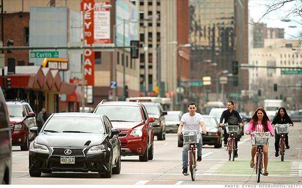 fastest growing metro areas denver