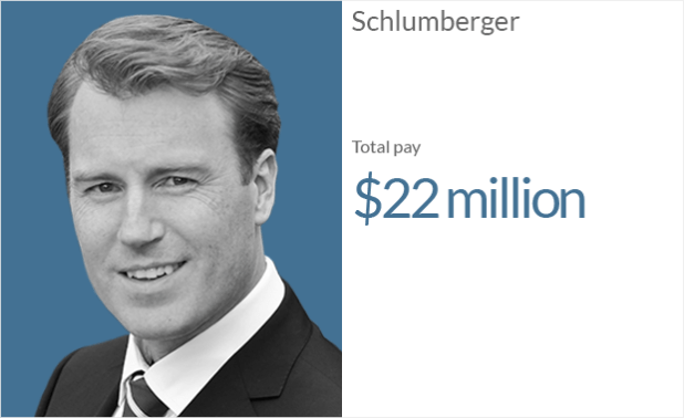 ceo pay schlumberger 1