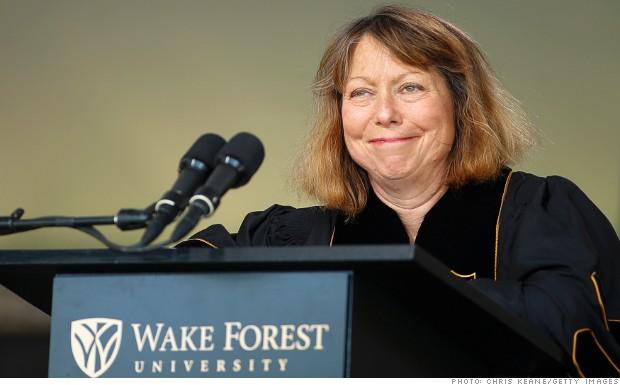Jill Abramson Breaks Silence About NYT Firing May 19 2014