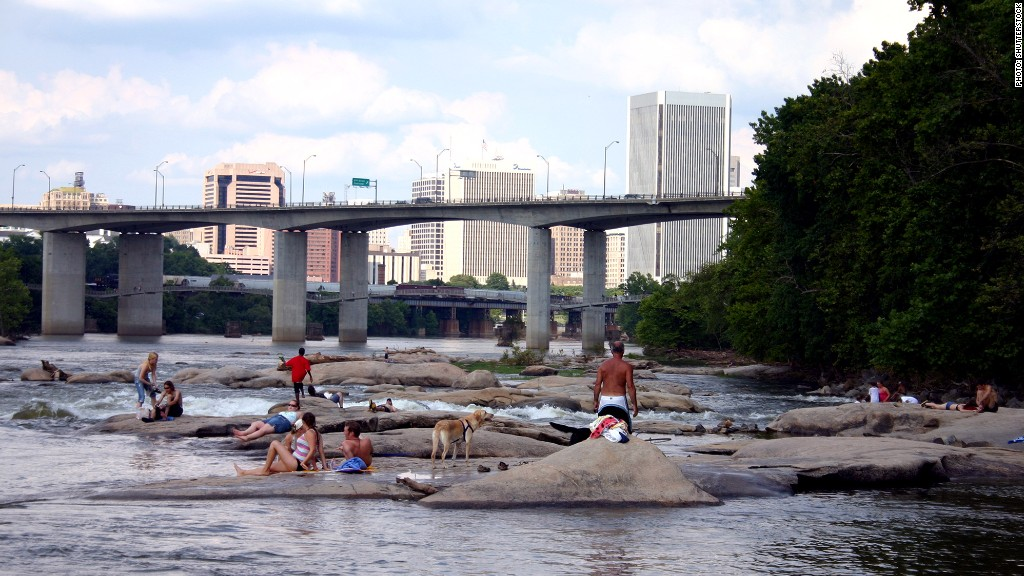 Richmond Va 10 Least Stressed Out Cities Cnnmoney