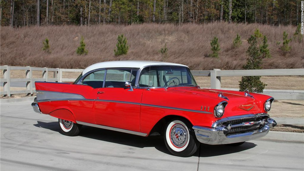 1957 Chevrolet Bel Air   21 most iconic American cars   CNNMoney most iconic american cars