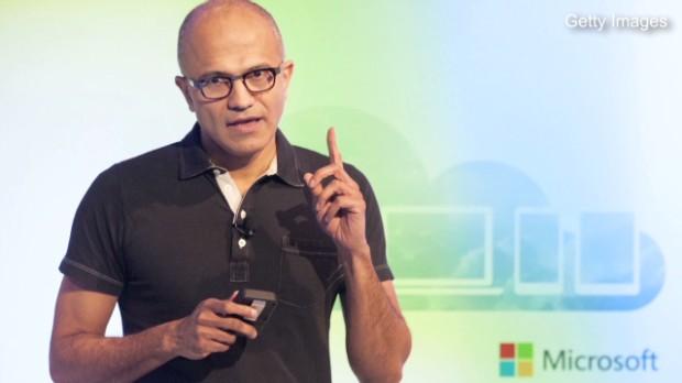 Microsoft's Nadella swings the ax