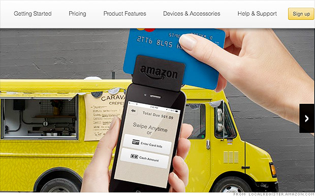 amazon card reader